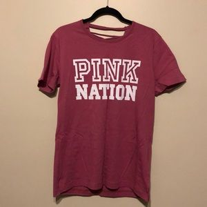 Victoria Secret's PINK lace up back tee